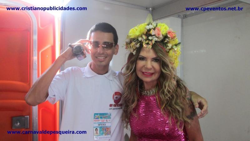 Carnaval 2015, Elba Ramalho em Pesqueira - Pesqueira